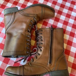 STEVE MADDEN Troopa Combat Boots, 7M